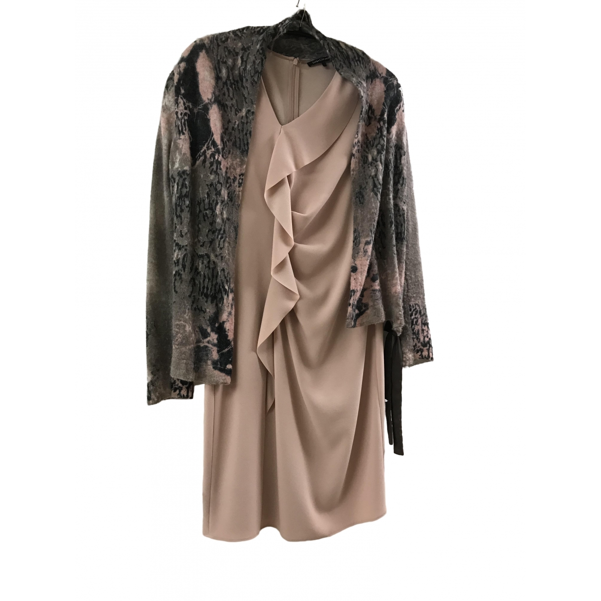 Luisa Cerano \N Pink dress for Women 40 FR