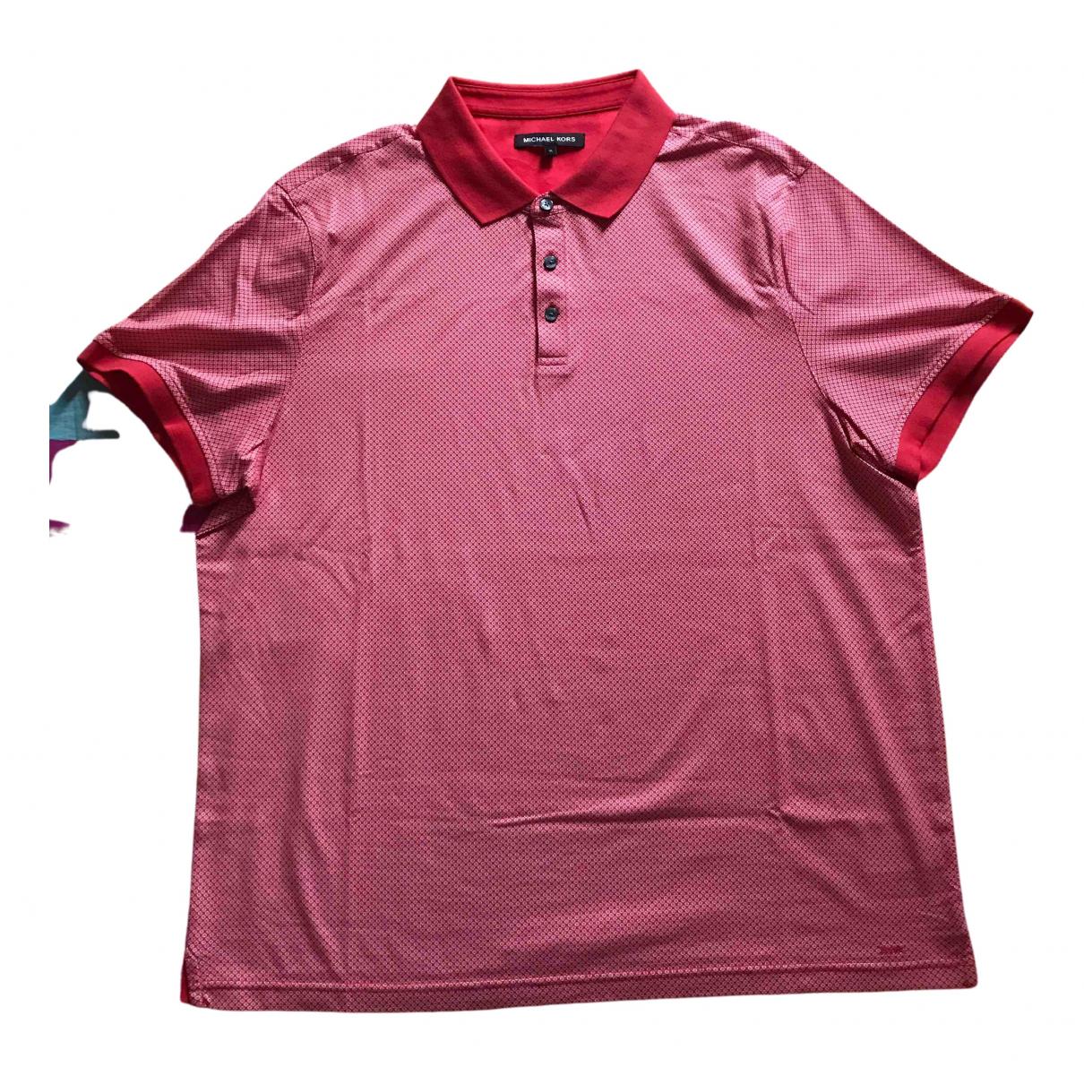 Michael Kors \N Poloshirts in  Rot Baumwolle
