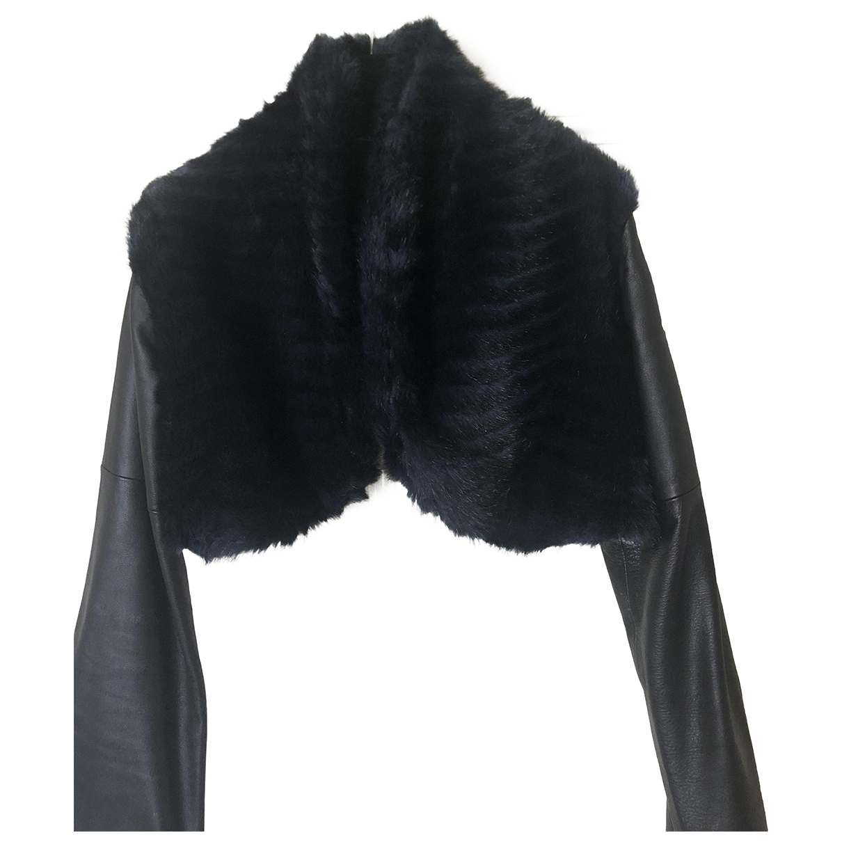 Fatima Lopes \N Blue Faux fur jacket for Women 38 FR