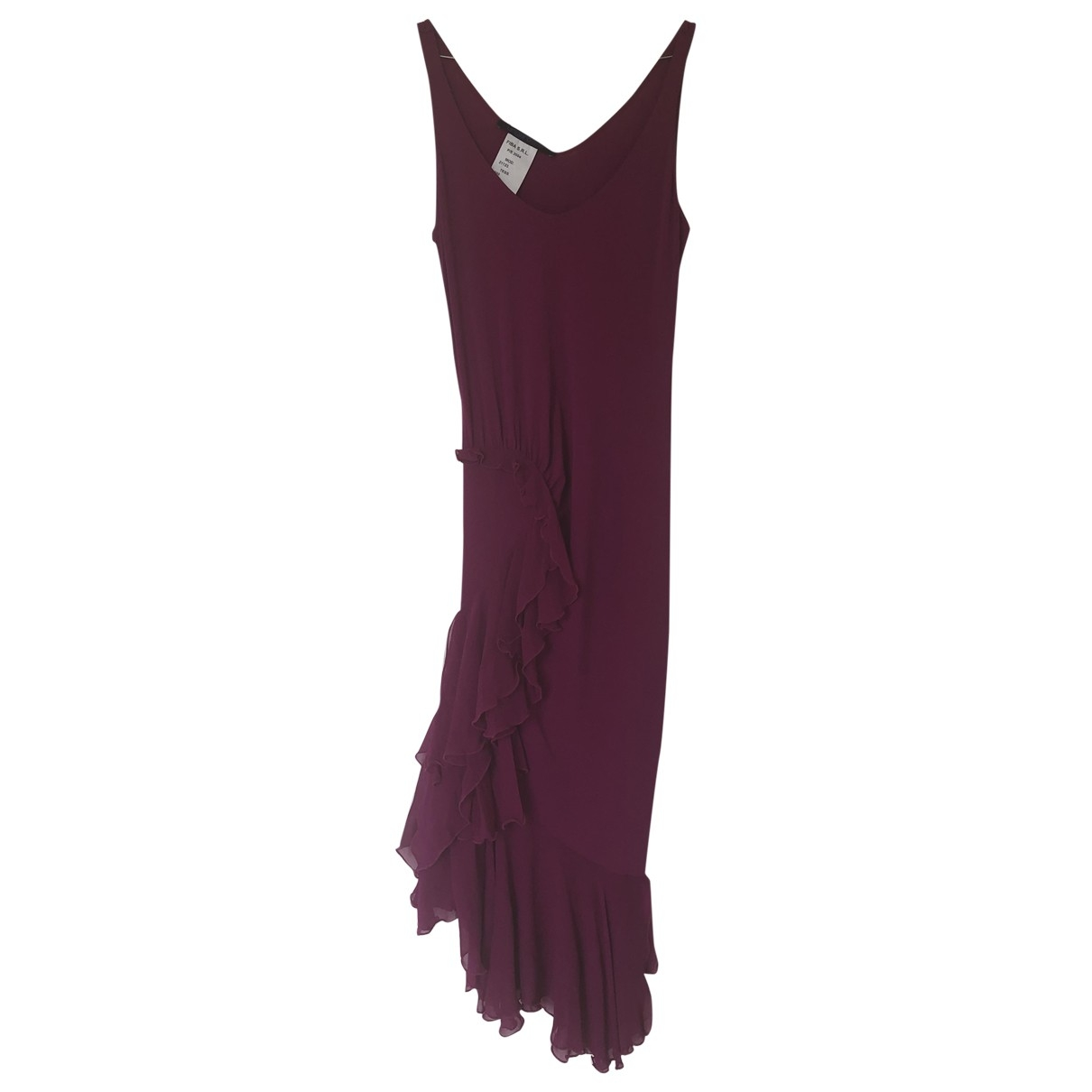 Emanuel Ungaro \N Pink Silk dress for Women 36 FR