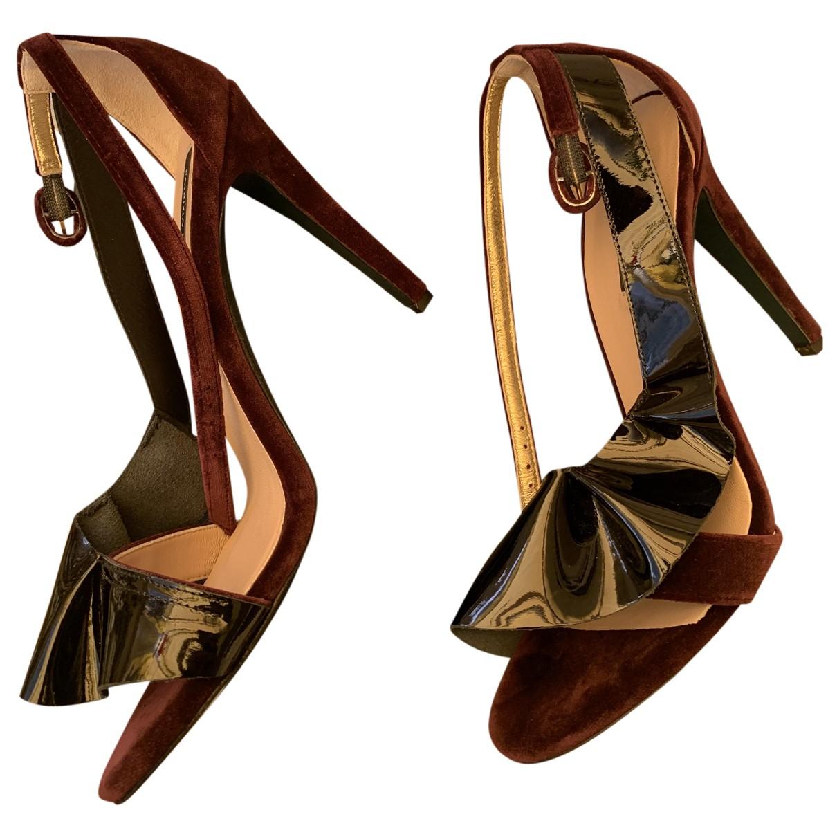 Sandalias de Terciopelo Patrizia Pepe