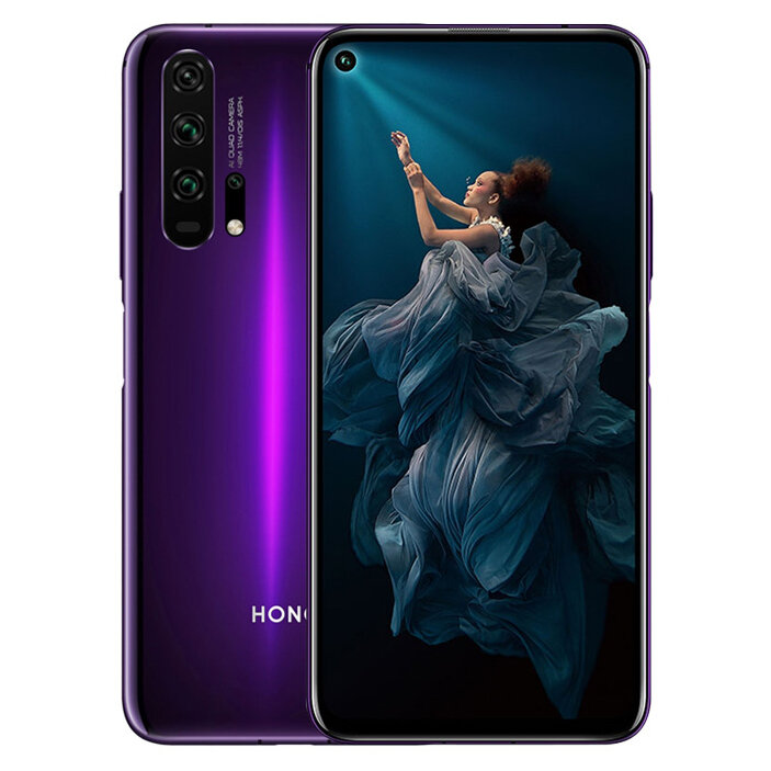 HUAWEI HONOR 20 Pro 6.26 inch 48MP Quad Rear Camera NFC 8GB RAM 128GB ROM Kirin 980 Octa core 4G Smartphone