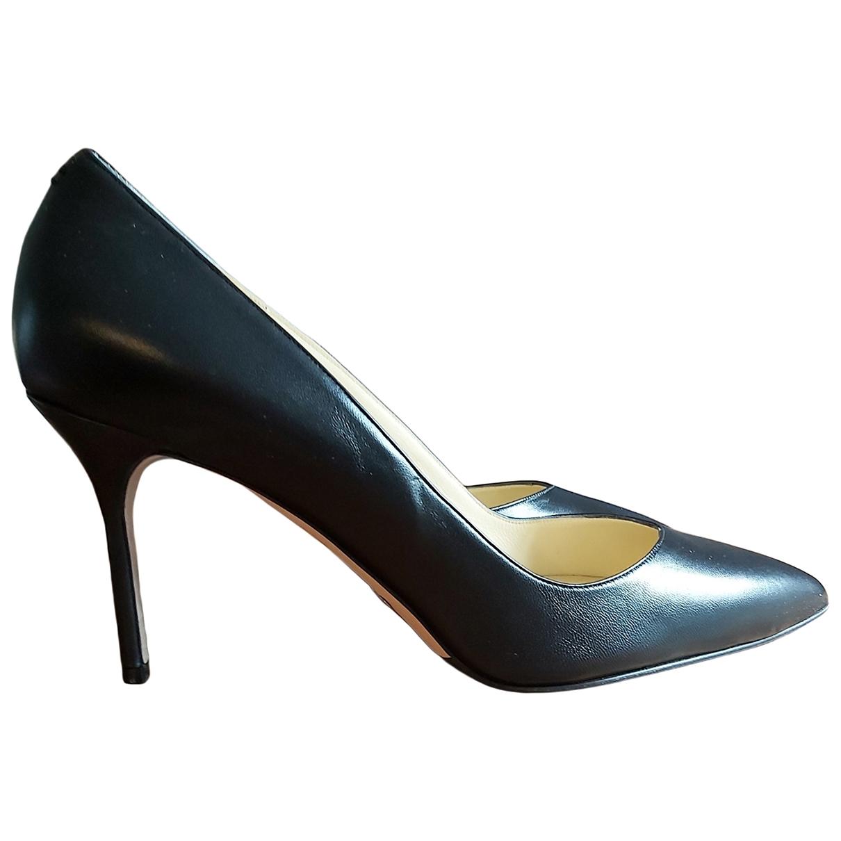 Sarah Flint - Escarpins   pour femme en cuir - noir