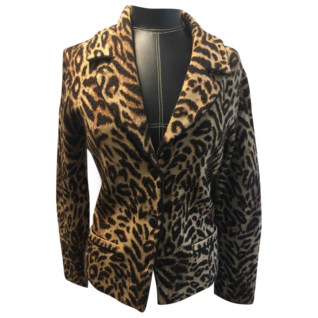 Escada \N Multicolour Wool jacket for Women 36 FR