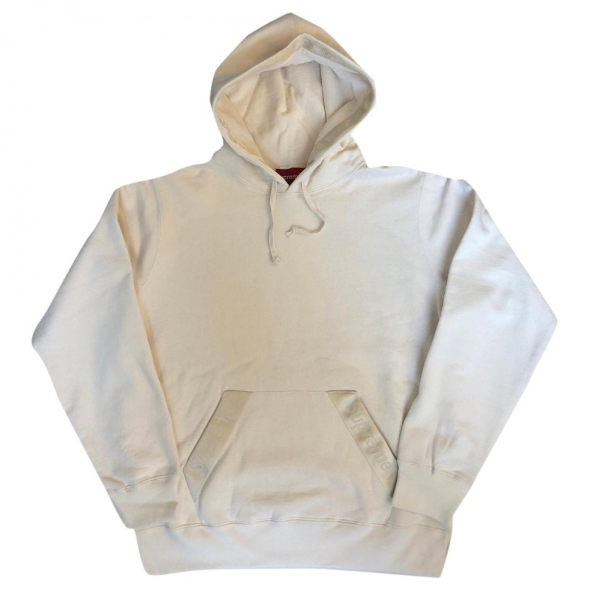Supreme \N Beige Cotton Knitwear & Sweatshirts for Men M International