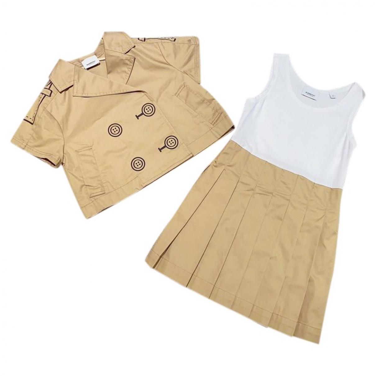 Burberry - Robe    pour enfant en coton