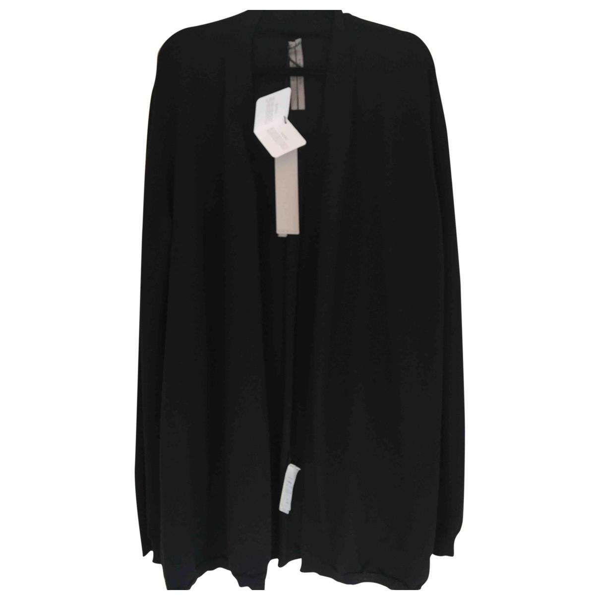 Rick Owens \N Pullover.Westen.Sweatshirts  in  Schwarz Wolle