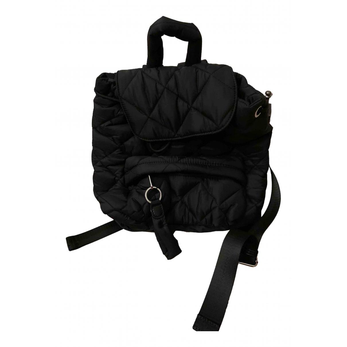 Zara N Black Cloth backpack for Women N