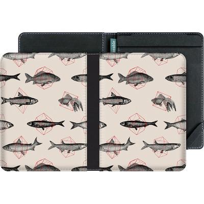 tolino vision eBook Reader Huelle - Fishes in Geometrics von Florent Bodart