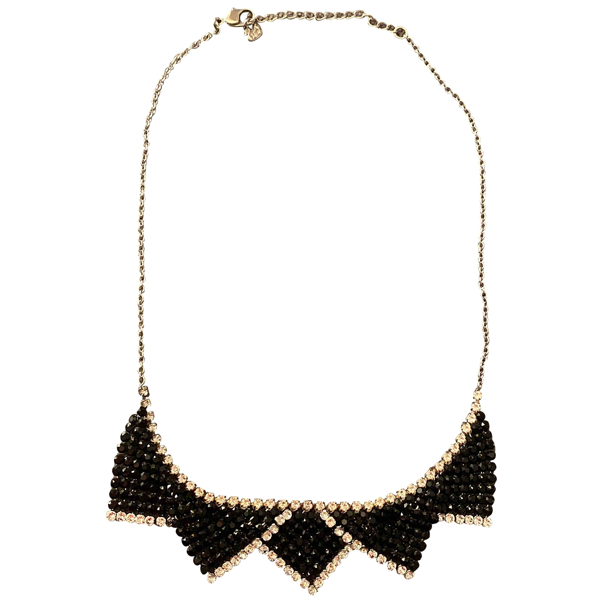 Swarovski - Collier   pour femme en cristal - noir