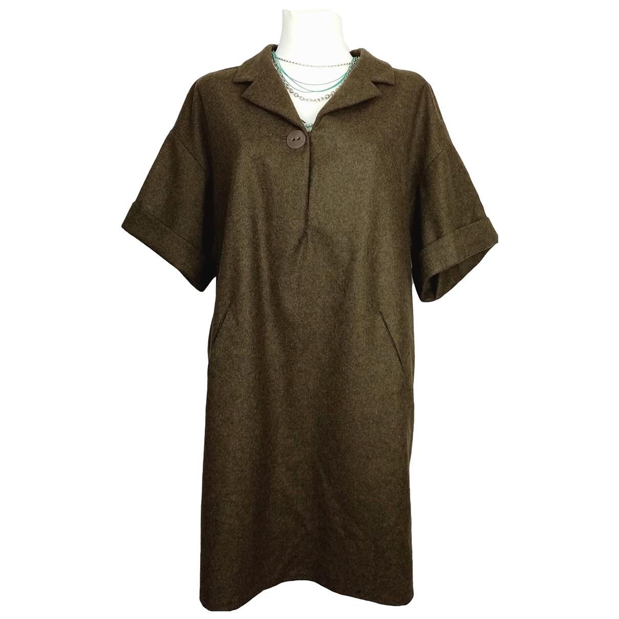 Isabel Marant Etoile \N Brown Wool dress for Women 3 0-5