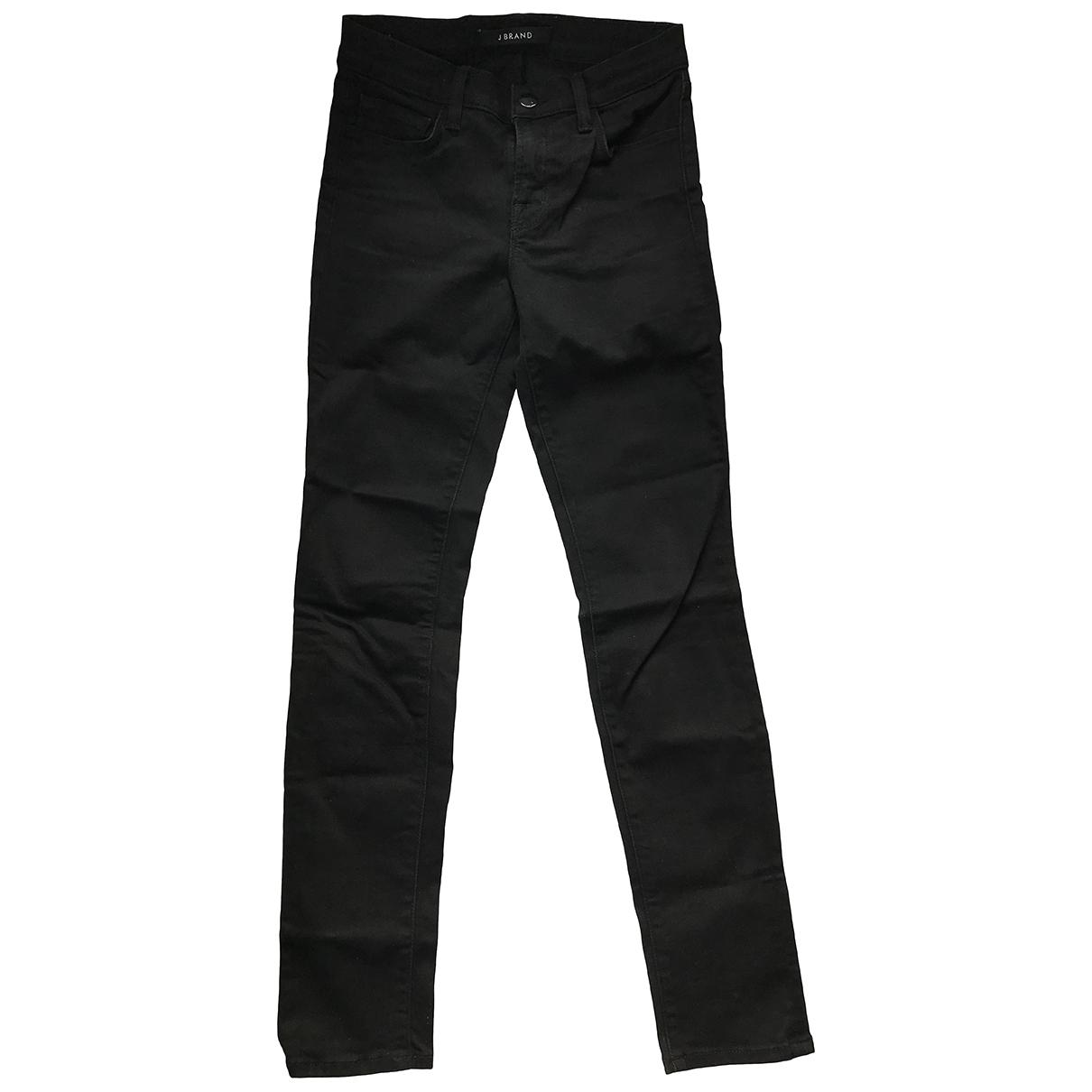 J Brand \N Black Denim - Jeans Jeans for Women 35 FR