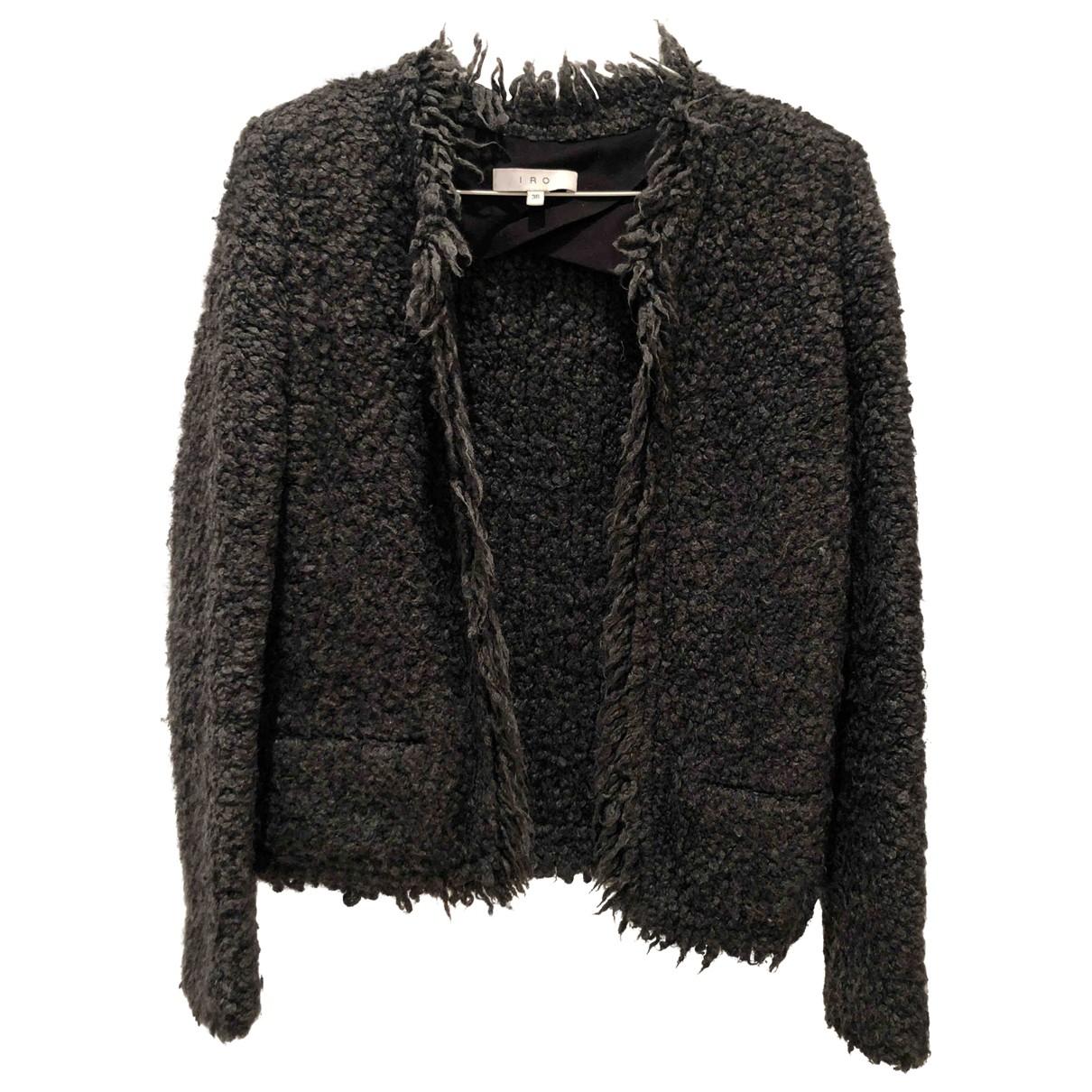Iro \N Grey Wool jacket for Women 36 FR