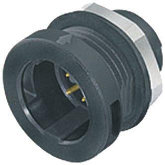 Binder Connector, 5 contacts Panel Mount M12 Socket, Solder IP67