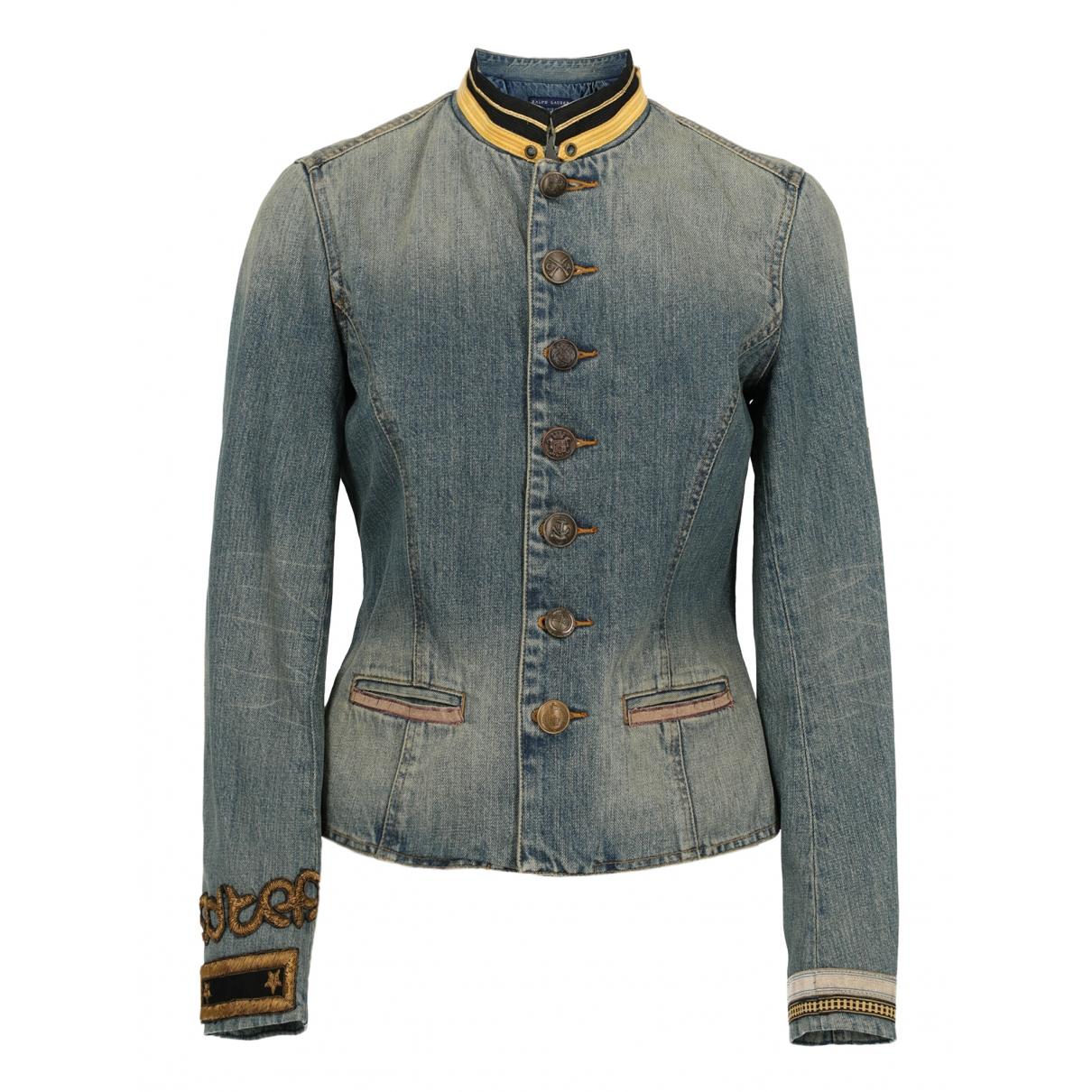 Ralph Lauren \N Jacke in  Blau Baumwolle