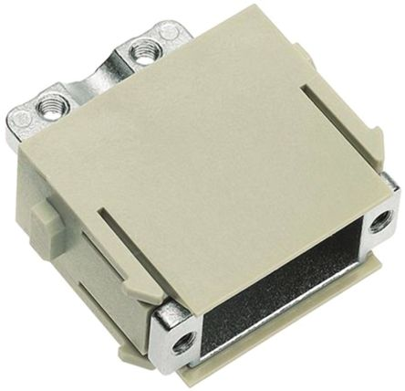 HARTING Han-Modular Heavy Duty Power Connector Module, 9 contacts, Female