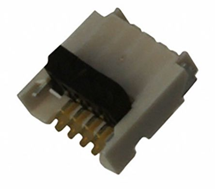 Molex Easy-On 503480 Series 0.5mm Pitch 4 Way Right Angle SMT Female FPC Connector, Solder (3000)