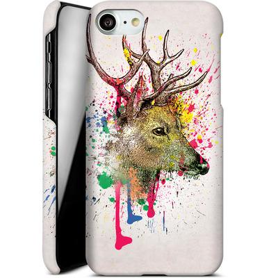 Apple iPhone 8 Smartphone Huelle - Splatter Deer von Mark Ashkenazi
