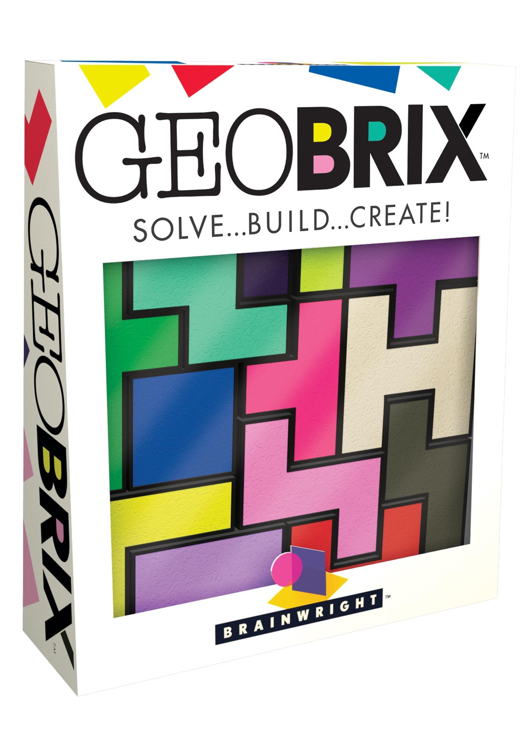 Brainwright GeoBRIX Solve Build Create Puzzle for Kids