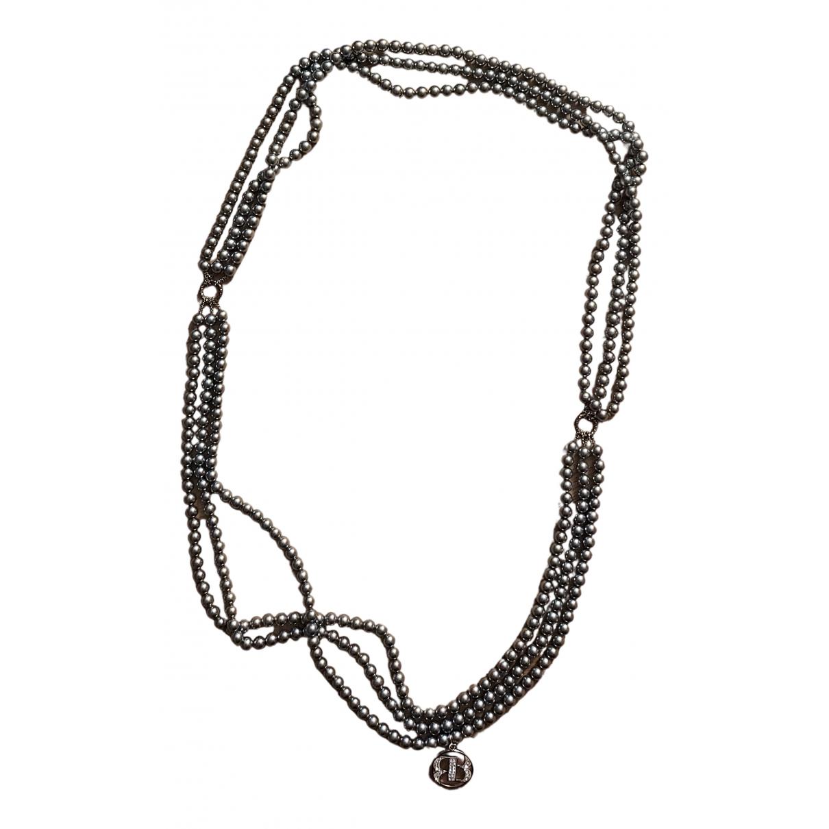 Officine Creative - Sautoir   pour femme en perles - argente