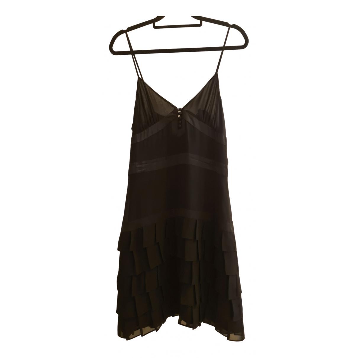 French Connection \N Kleid in  Schwarz Polyester