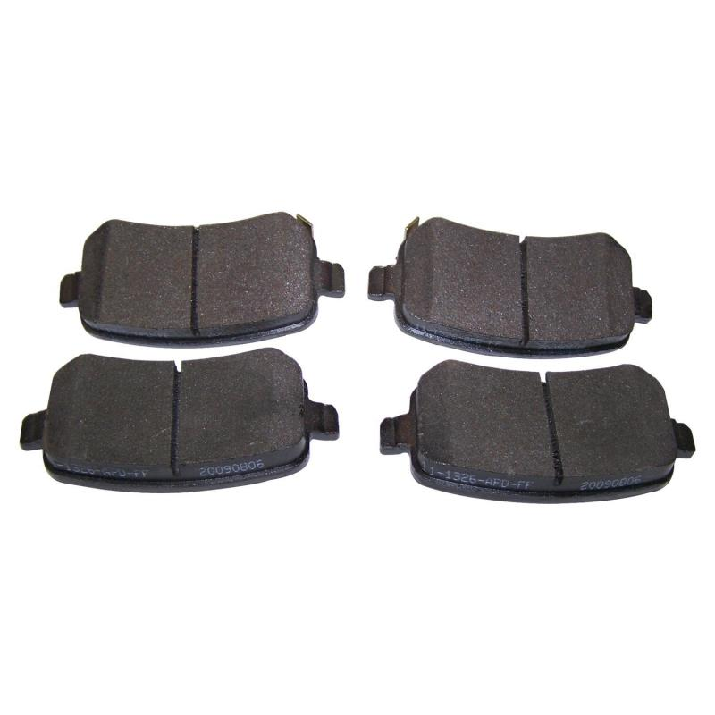 Crown Automotive 68029887AA Jeep Replacement Rear Brake Pad Set for Misc. 2008-2010 Chrysler & Dodge Models Rear