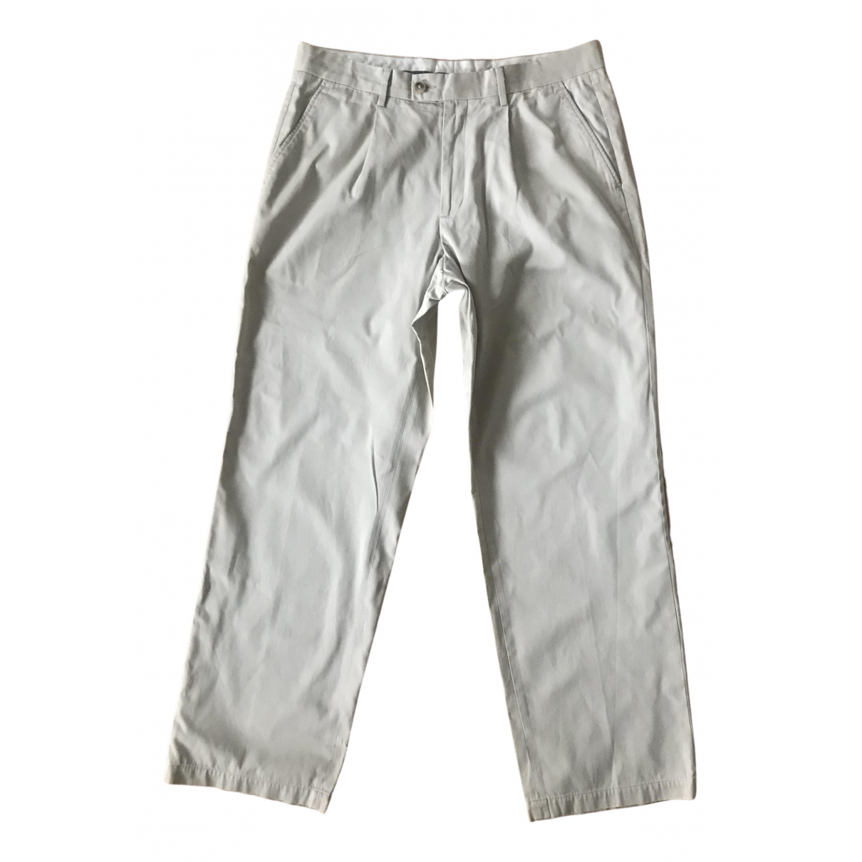 Givenchy \N Beige Cotton Trousers for Men 36 UK - US