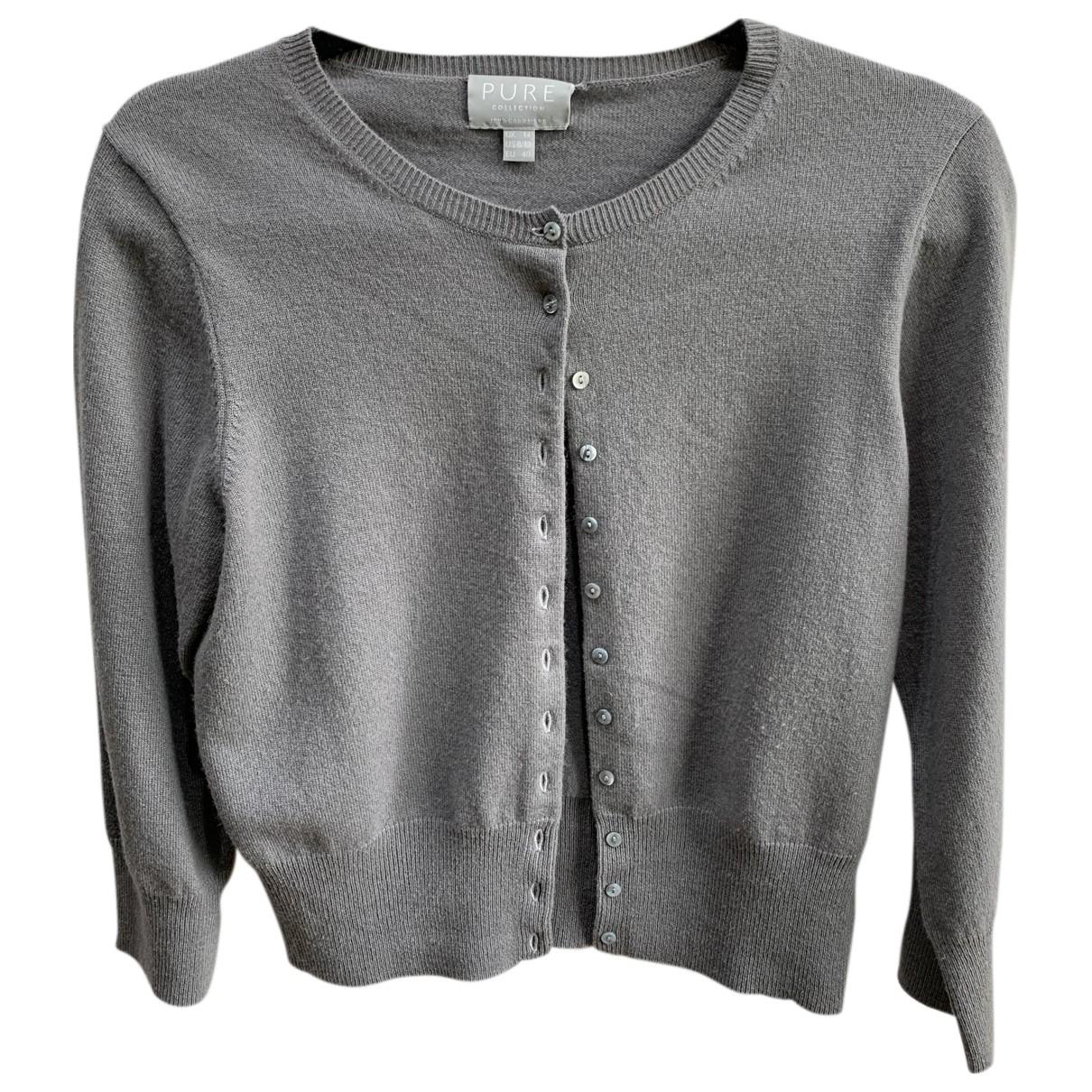 Pure Collection - Pull   pour femme en cachemire - gris