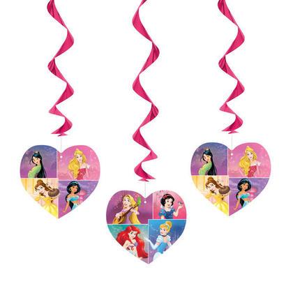 Princess 3 Hanging Swirl Decoration 26