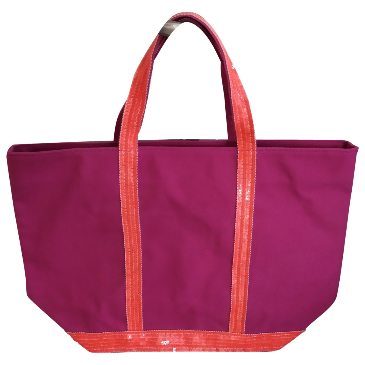 Vanessa Bruno Cabas Pink Cloth handbag for Women \N
