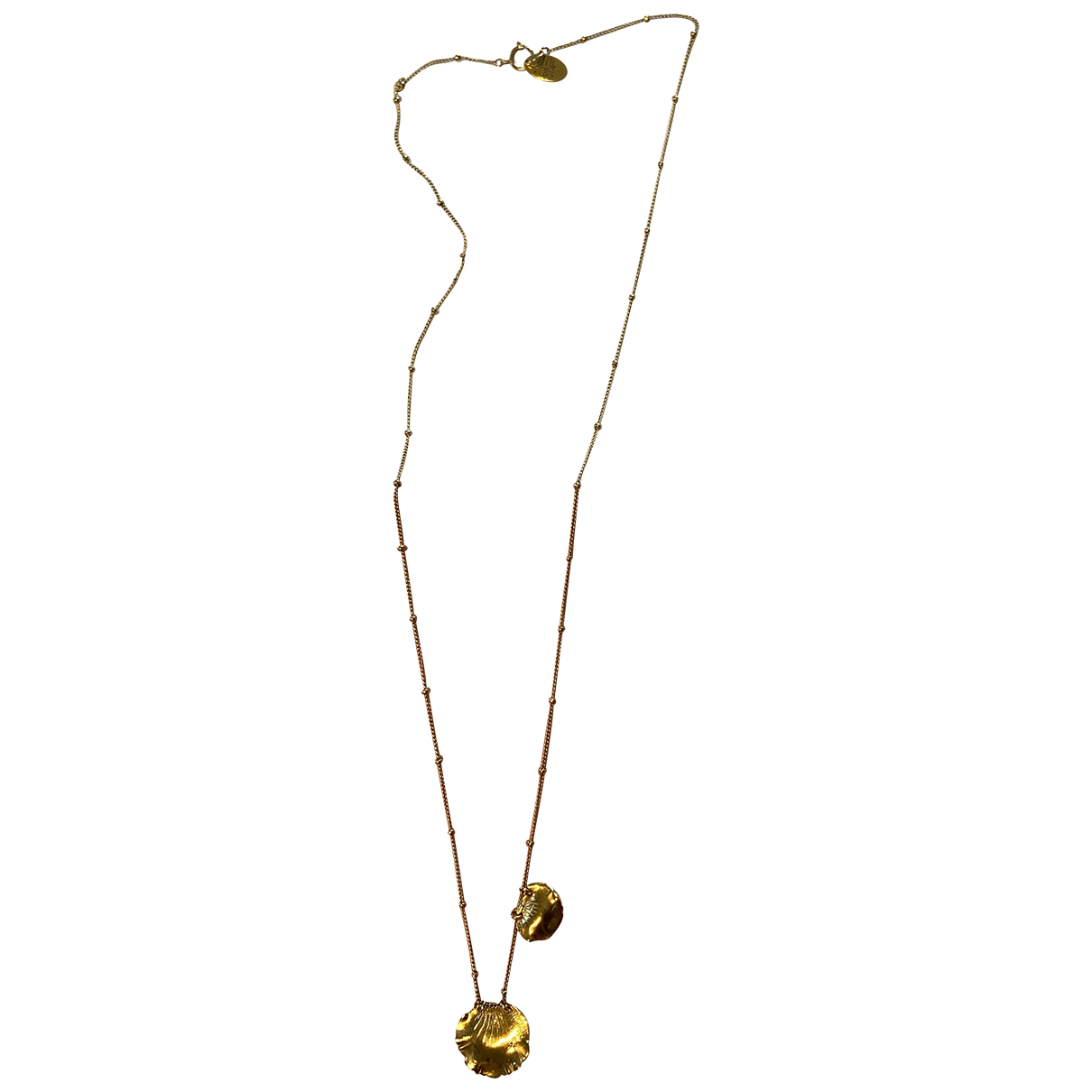 Elise Tsikis N Gold Gold plated necklace for Women N