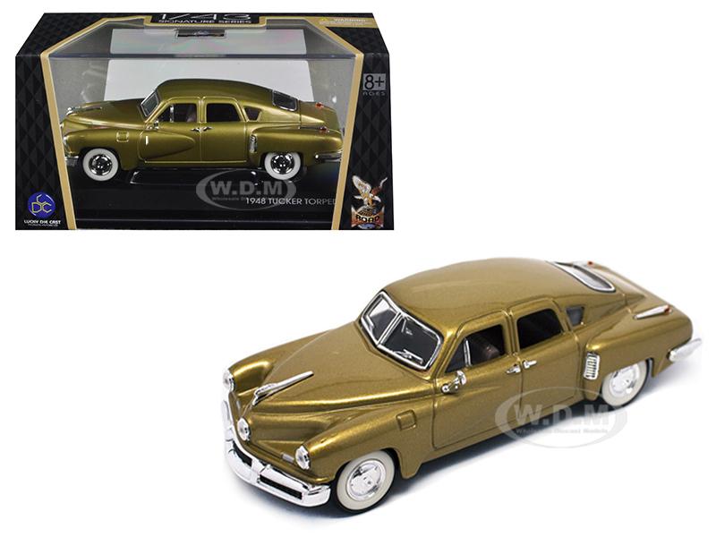 1948 Tucker Gold Signature Series 1/43 Diecast Model Car by Road Signature