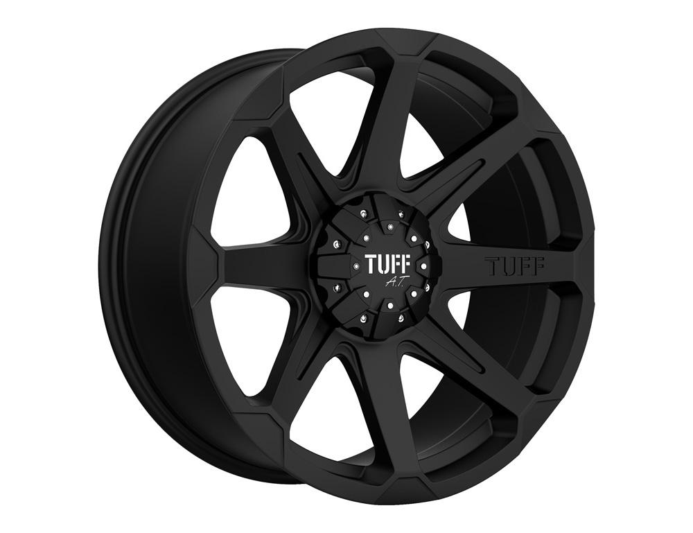 TUFF T05 Wheel 22x10 5x114.30|5x4.5|5x127 5mm Flat Black