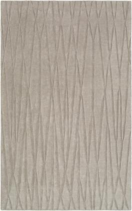 Etching ETC-4997 5' x 8' Rectangle Modern Rug in Medium