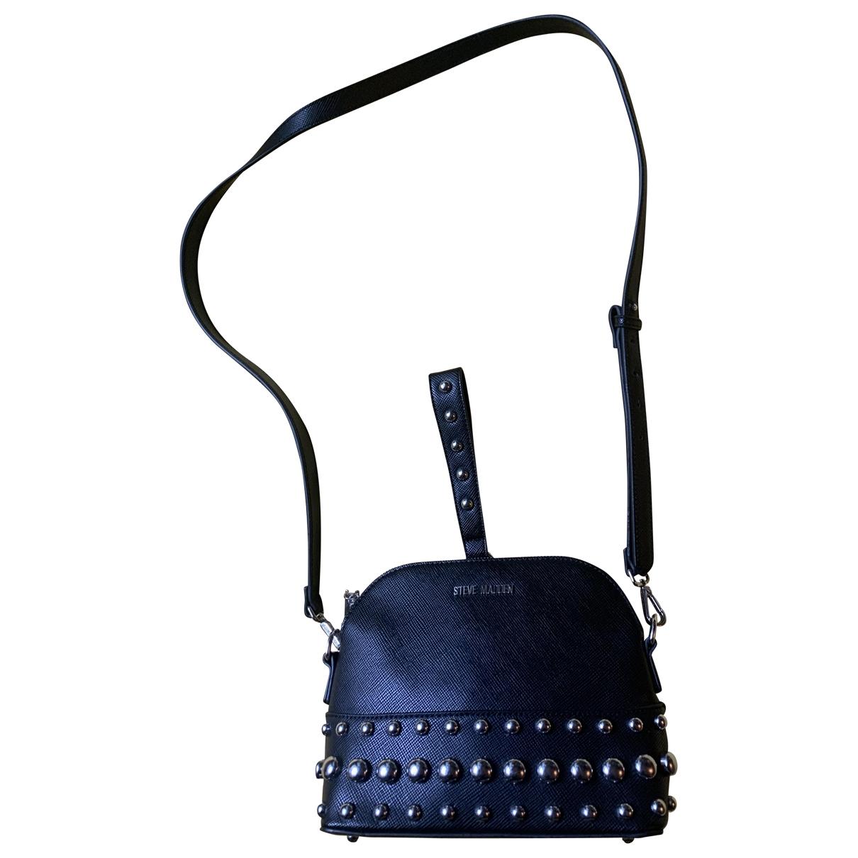 Steve Madden \N Handtasche in  Schwarz Leder