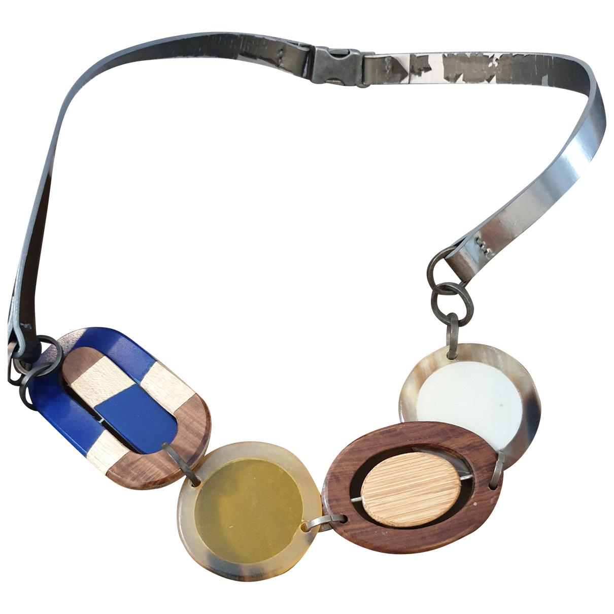 Marni - Collier   pour femme en bois - multicolore