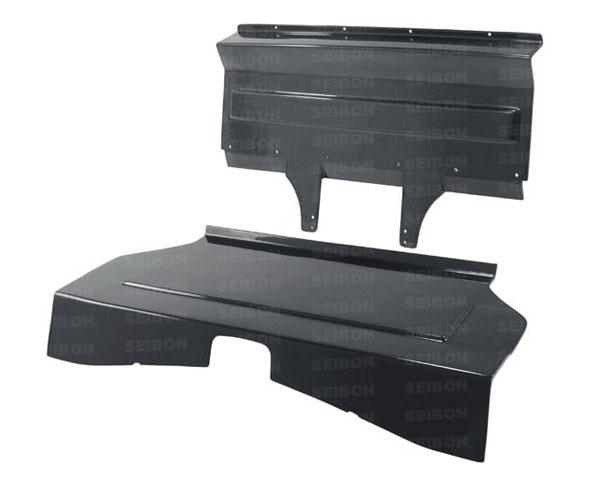 Seibon BSP1213SCNFRS Carbon Fiber Rear Seat Panels Scion FR-S / Subaru BRZ / Toyota GT-86 2013-2021