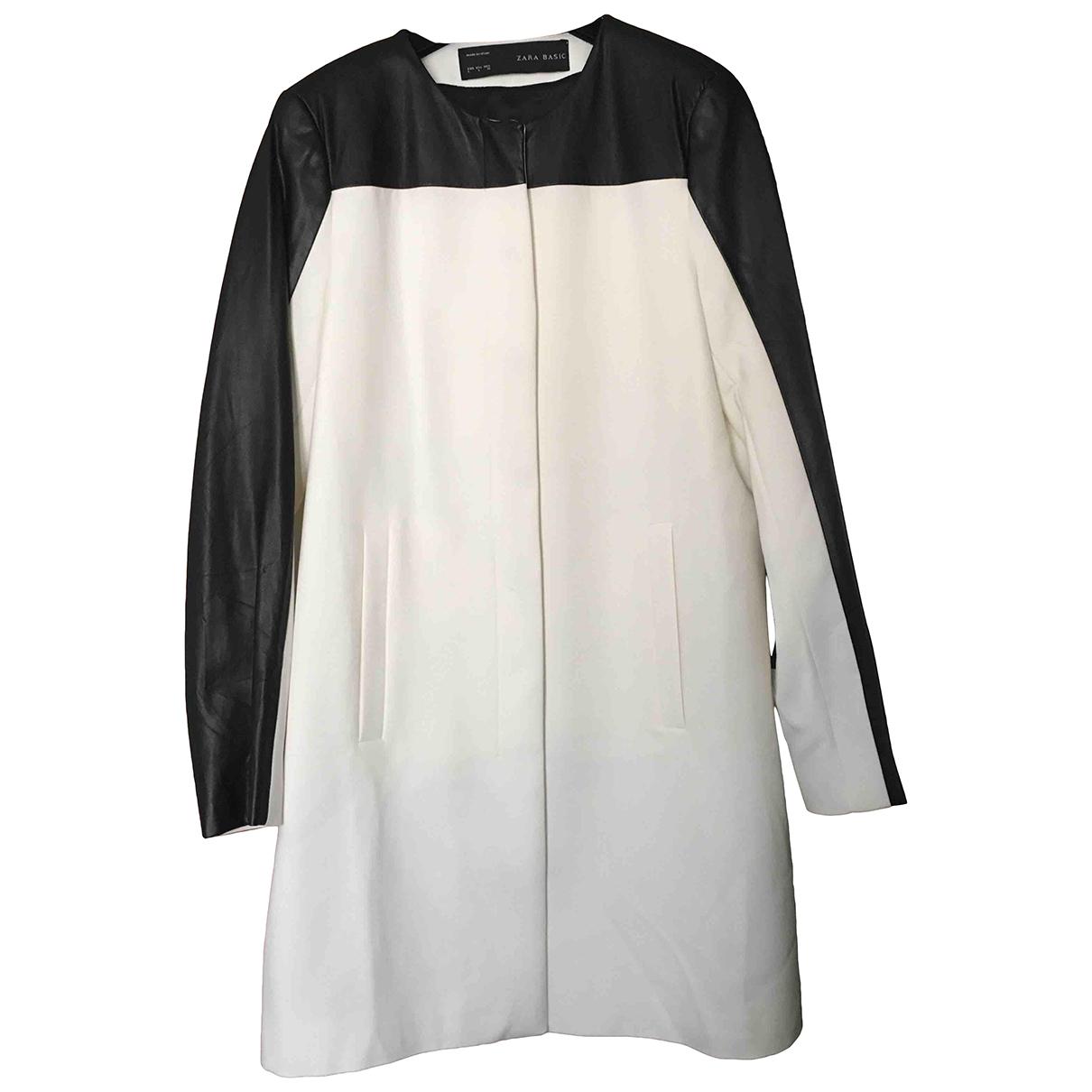 Zara - Manteau   pour femme - blanc