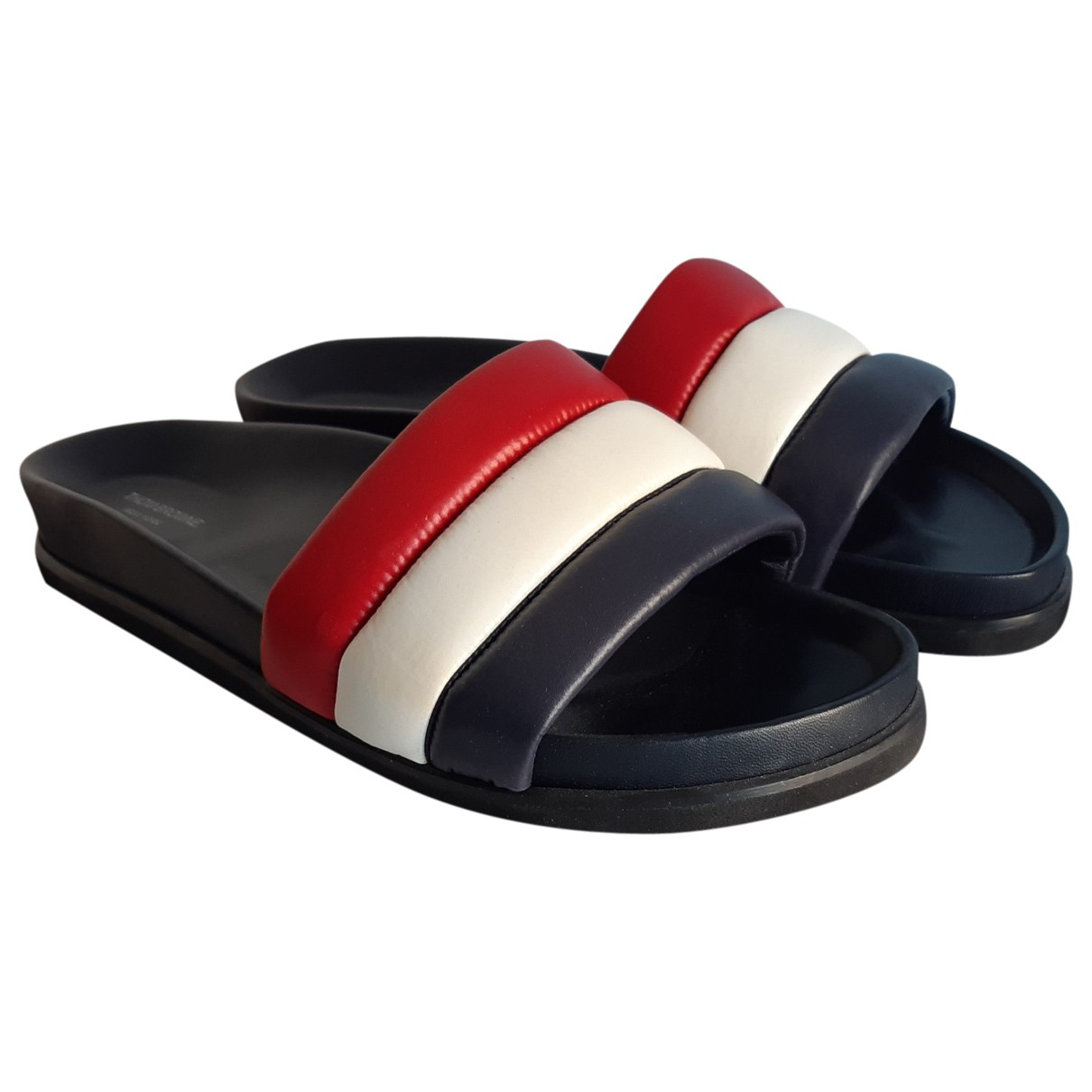 Thom Browne \N Multicolour Rubber Sandals for Men 44 EU