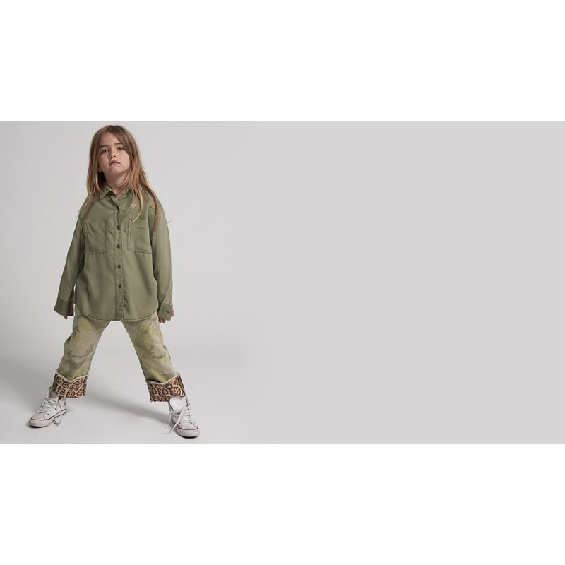 KIDS CAMO SOHO TENCEL SHIRT
