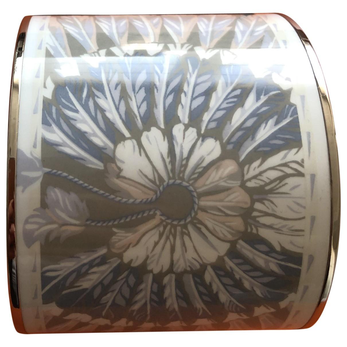 Hermes - Bracelet Bracelet Email pour femme en metal - argente
