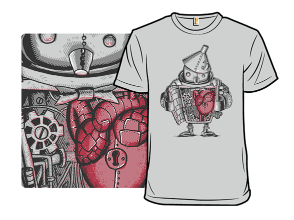 Tin Heart T Shirt