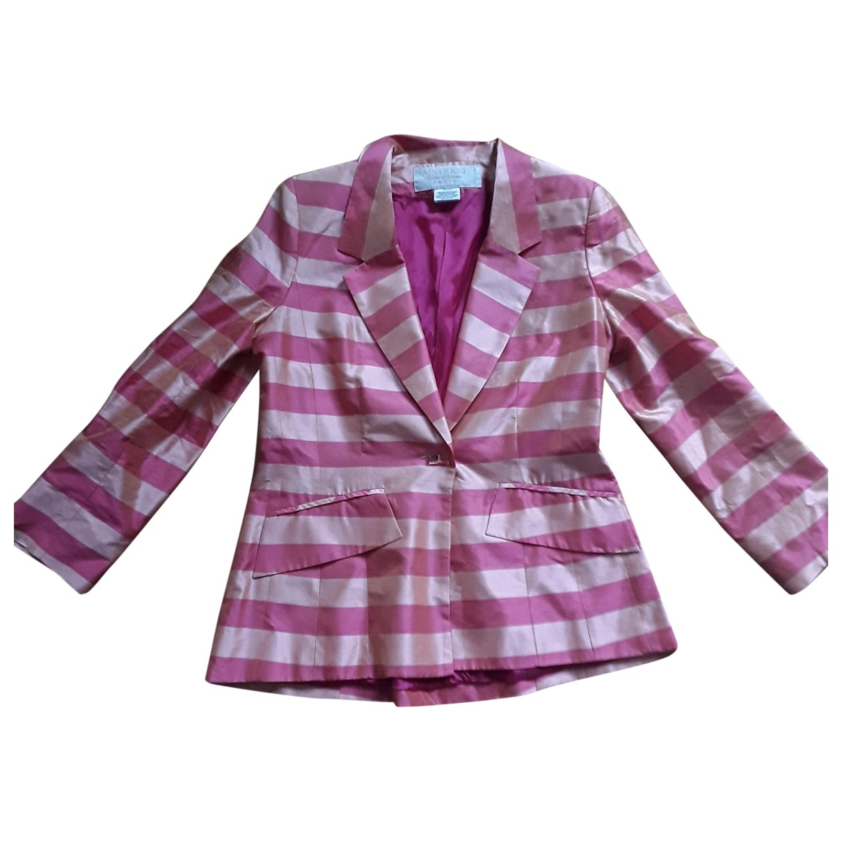 Nina Ricci - Veste   pour femme en soie - rose