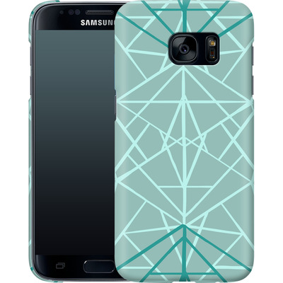 Samsung Galaxy S7 Smartphone Huelle - Geometric Sketches 3 von Mareike Bohmer