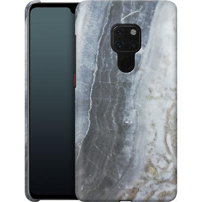 Huawei Mate 20 Smartphone Huelle - Desaturated Marble von Emanuela Carratoni