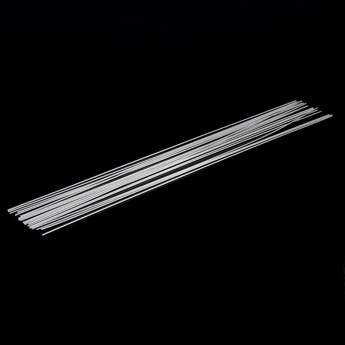 20pcs ER1100 Low Temperature Aluminum Welding Solder Wire Brazing Repair Rods