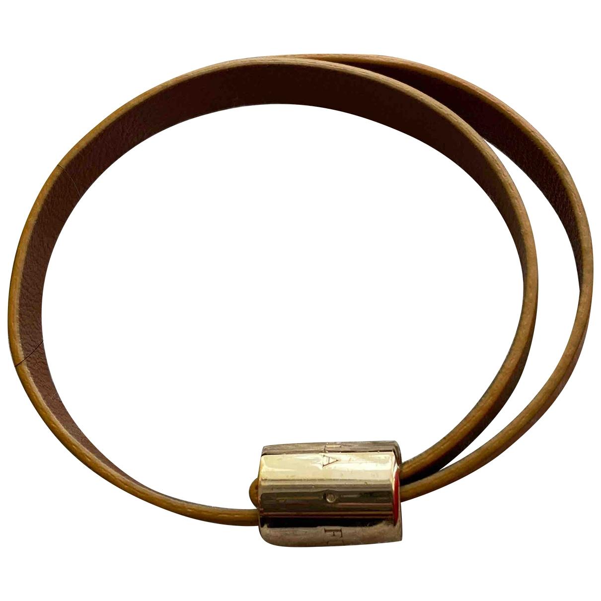 Furla \N Armband in  Braun Exotenleder
