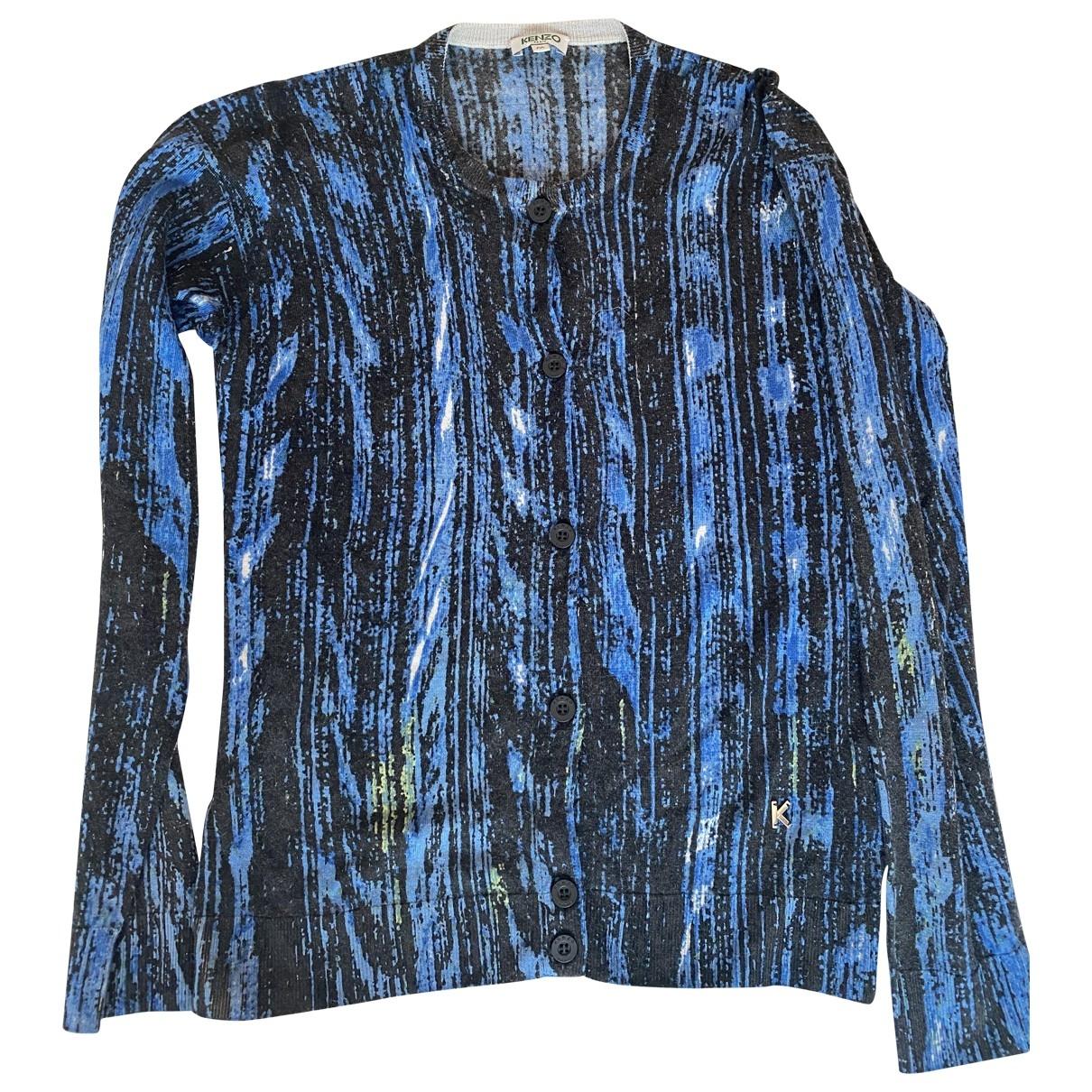 Kenzo \N Pullover in  Blau Wolle