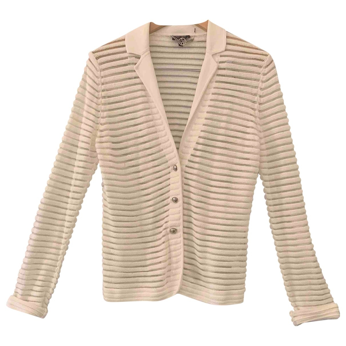 Armani Jean - Pull   pour femme en coton - blanc