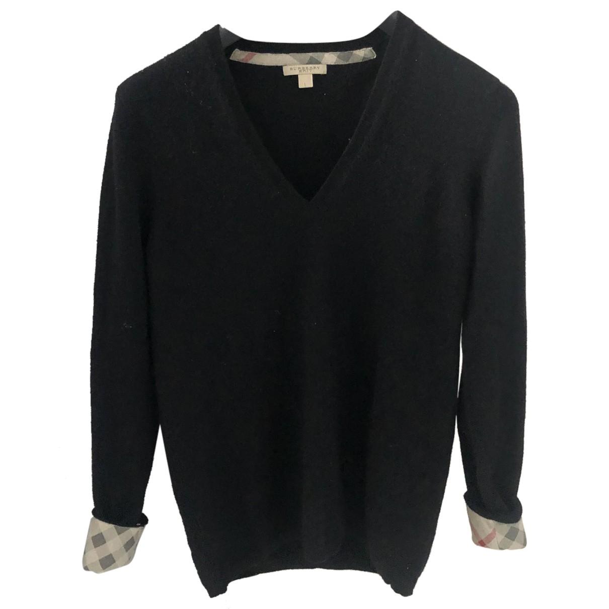 Burberry - Pull   pour femme en cachemire - noir